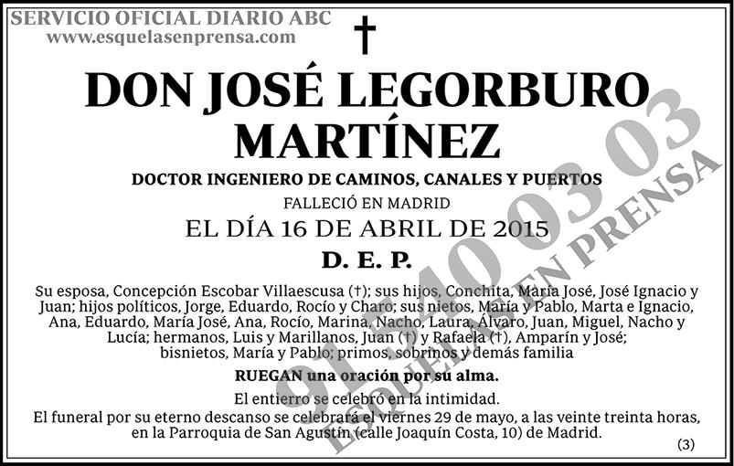 José Legorburo Martínez